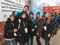 Волонтёрство на заключительном этапе Кубка мира по санному спорту