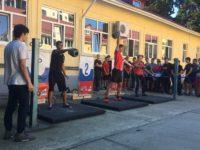 Городские соревнования по гирьевому спорту