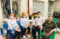 Студенты в международный день инвалидов посетили ветеранов Великой Отечественной войны