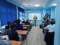 Беседа «О гордости и чести службы в рядах Росгвардии» с участием военнослужащих в/ч 3662
