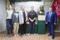 Встреча членов поискового отряда «Подвиг» с ветеранами и студентами СКПО