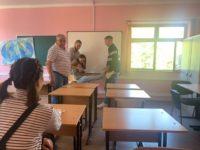 В рамках месячника «Безопасная Кубань» были проведены тренировочные занятия по отработке действий в чрезвычайных ситуациях